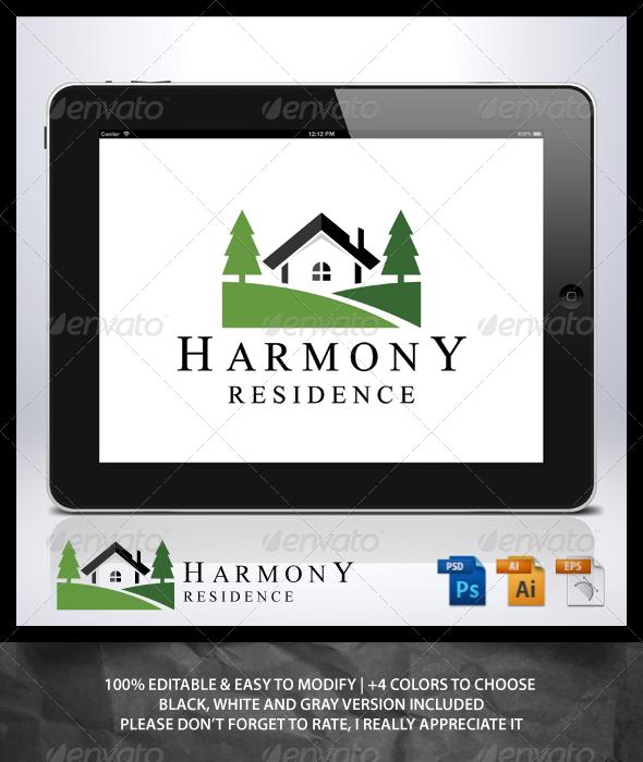 GraphicRiver Harmony Residence Logo 6915347
