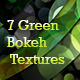 7 Green Bokeh Textures - GraphicRiver Item for Sale