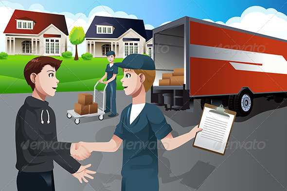GraphicRiver Advertising for Moving Company 6915769