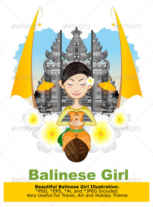 GraphicRiver Balinese Girl 6915801