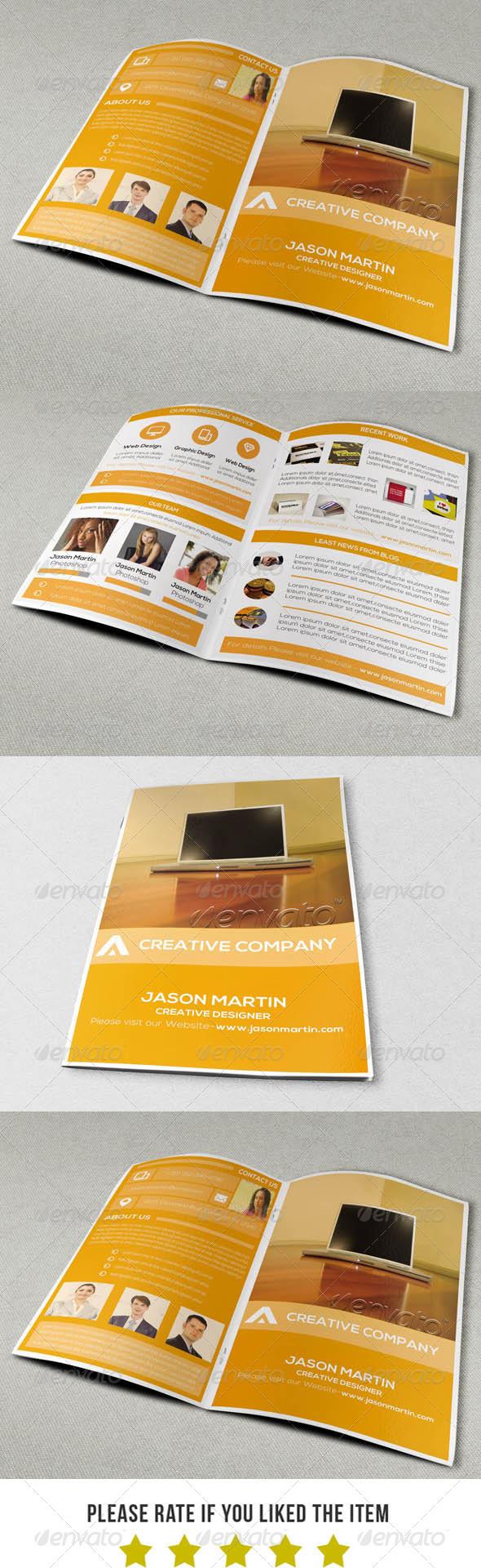 GraphicRiver Modern Portfolio Brochure Template V3 6915821