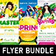 Spring Break Party Flyer Bundle - GraphicRiver Item for Sale