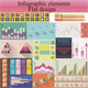 Flat Infographic Elements - GraphicRiver Item for Sale