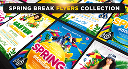 Spring Break Flyers Collection