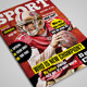 25 Pages Sport Magazine Vol11 - GraphicRiver Item for Sale