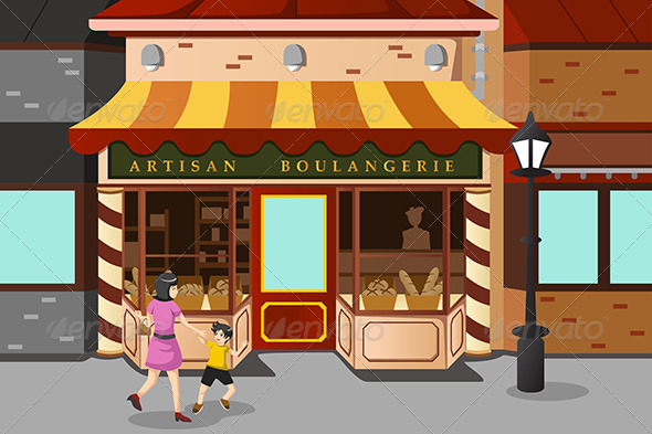 GraphicRiver French Bakery Store 6916941