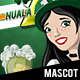 Nuala Mc'Nally - Cheers! Mascot - GraphicRiver Item for Sale