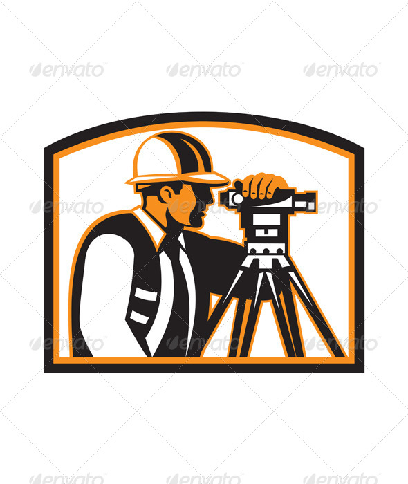 GraphicRiver Surveyor Geodetic Engineer Survey Theodolite 6917210