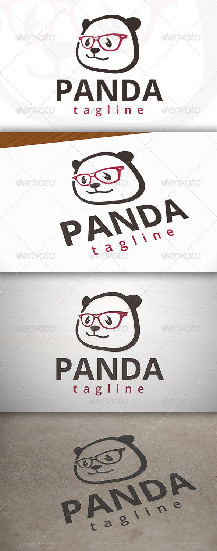 Geek Panda Logo