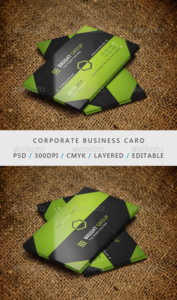 GraphicRiver Business Card 17 6917746