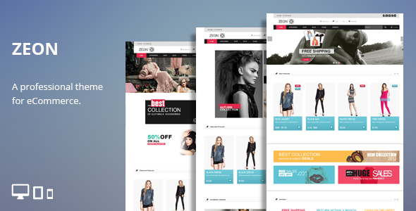 ThemeForest Zeon eCommerce HTML Theme 6767902