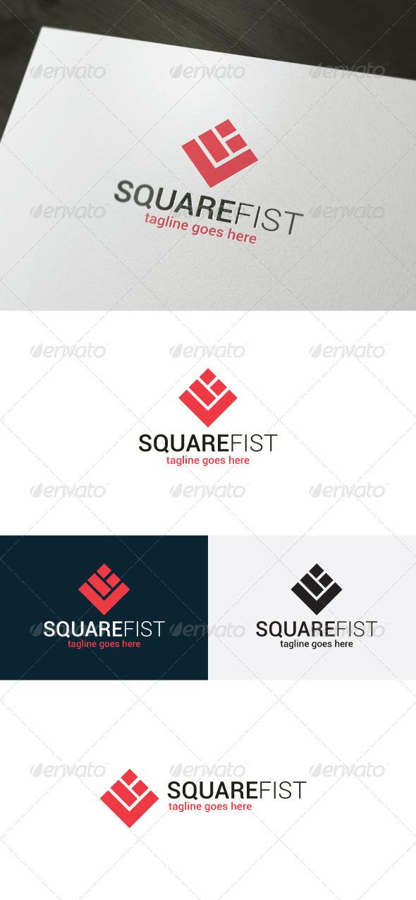 GraphicRiver Square Fist Logo 6917919