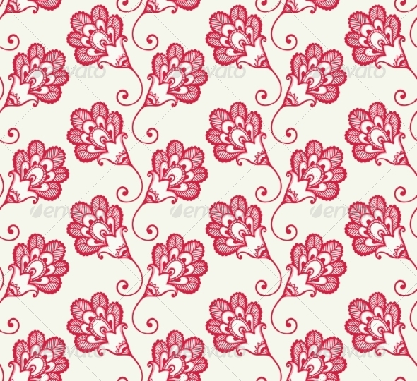 GraphicRiver Flower Pattern 6918183