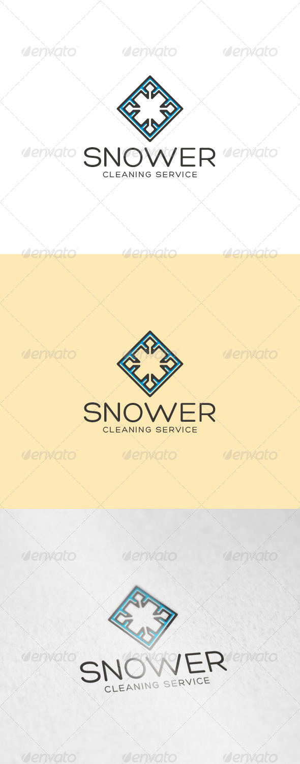 GraphicRiver Snower Logo 6918475