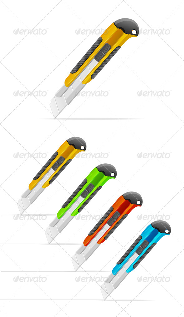 GraphicRiver Paper Knife 6918824