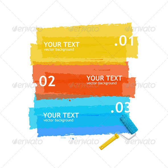GraphicRiver Paint Roller Banner 6918833