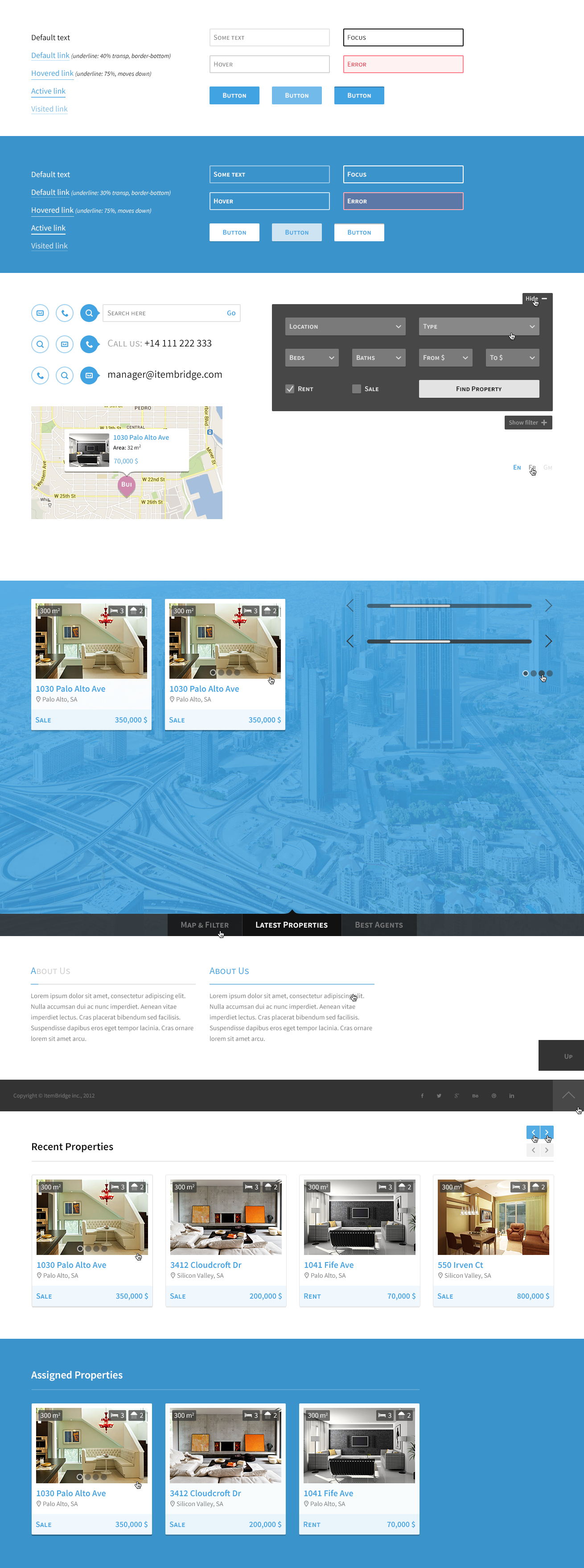 FlatRoom — Responsive Real Estate WordPress Theme