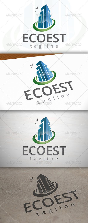 GraphicRiver Eco Estate Logo 6919683