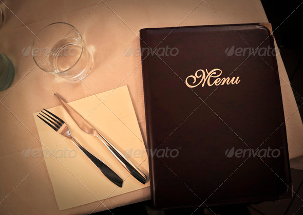 menu - Stock Photo - Images