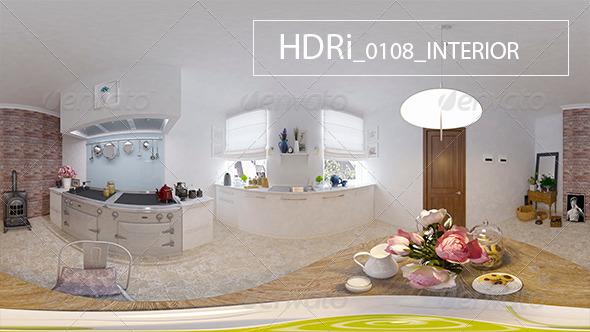 3DOcean 0108 Interoir HDR 6920294
