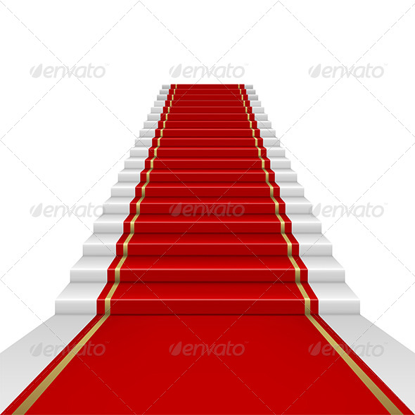 GraphicRiver Red Carpet with Ladder 6920351