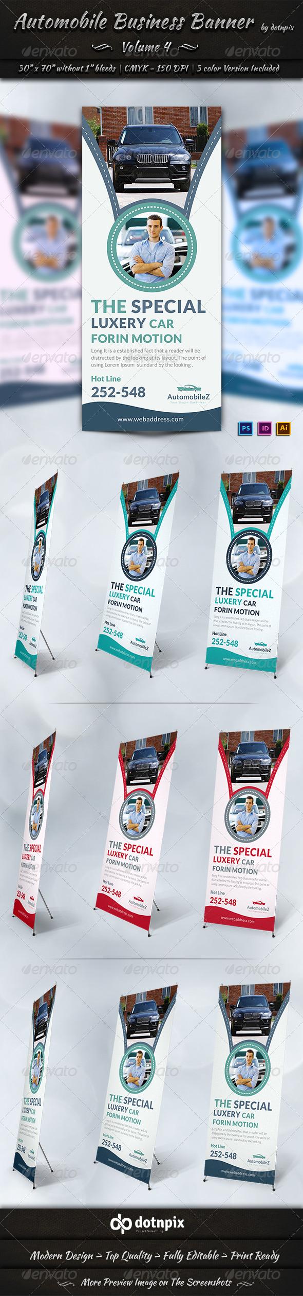 GraphicRiver Automobile Business Banner Volume 4 6920419