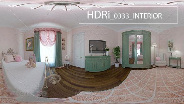 3DOcean 0333 Interoir HDR 6920492
