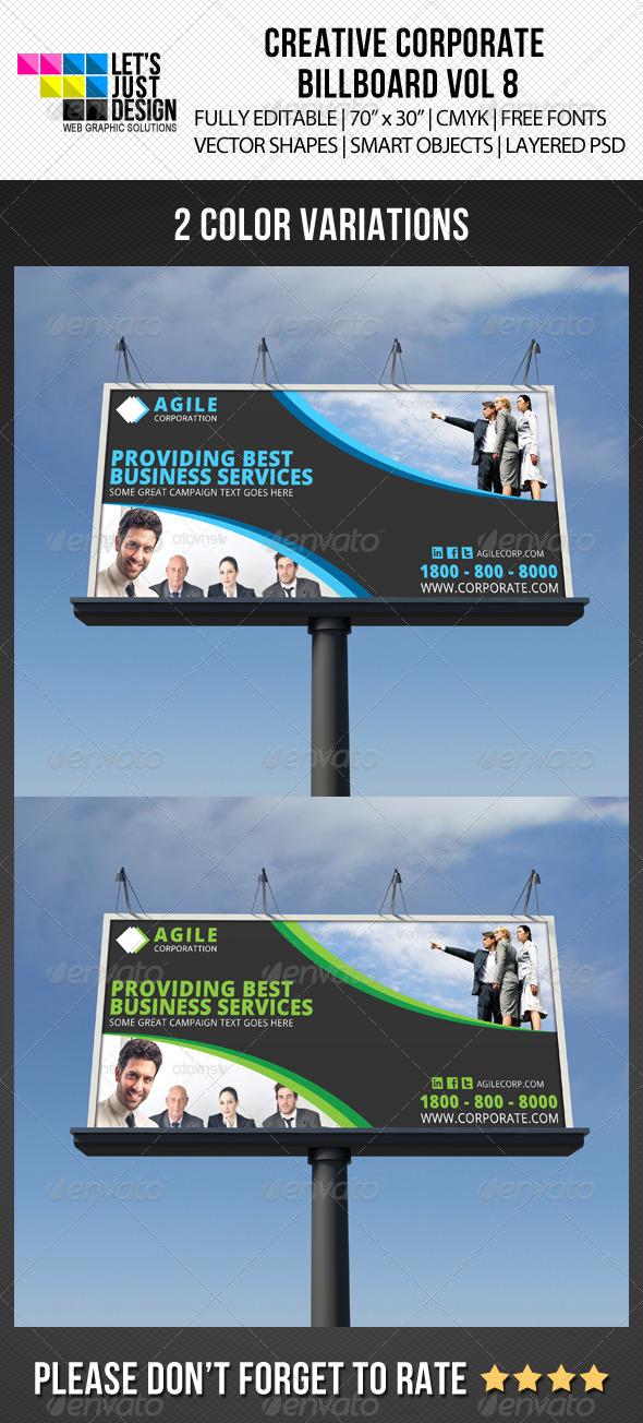 GraphicRiver Corporate Billboard Banner Vol 8 6920570