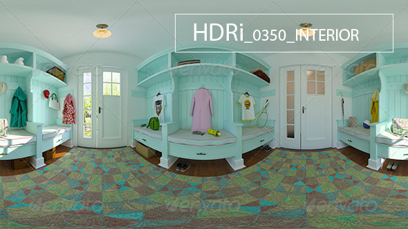 3DOcean 0350 Interoir HDR 6920597