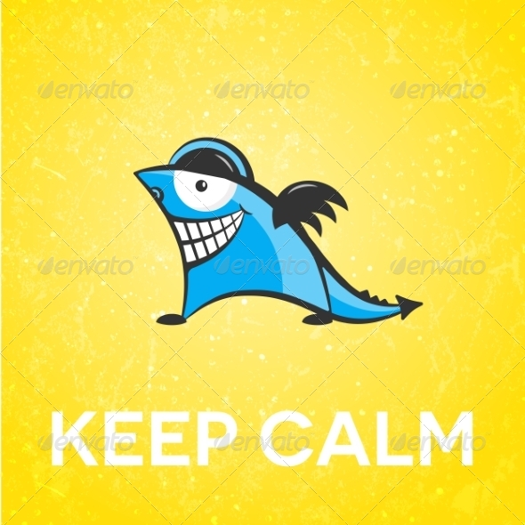 GraphicRiver Keep Calm Character 6921177