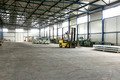 forklift in sheet metal production hall - PhotoDune Item for Sale