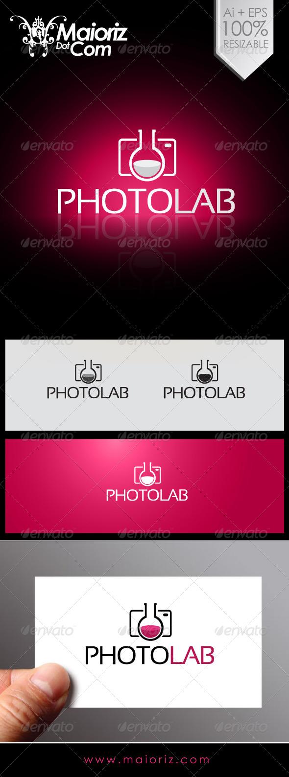 GraphicRiver Photo Lab Logo 6922435