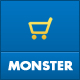 Monster Responsive Magento Theme (Shopping) Download