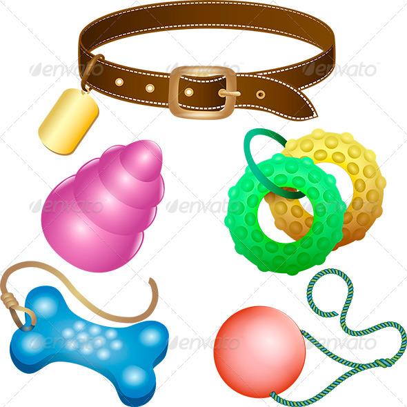 GraphicRiver Dog Toys 6922985