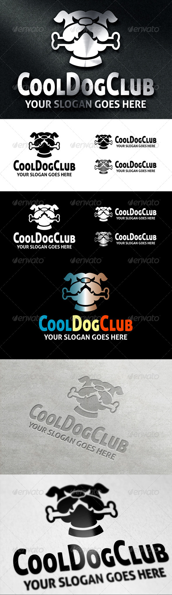 GraphicRiver CoolDogClub Logo 6923030