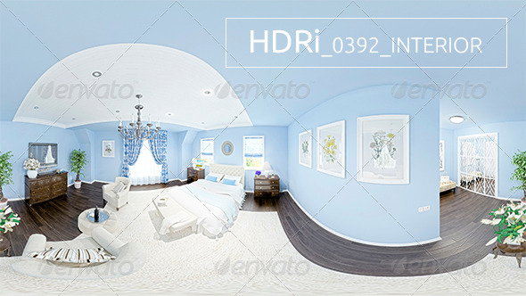 0392 Interoir HDRi - 3DOcean Item for Sale