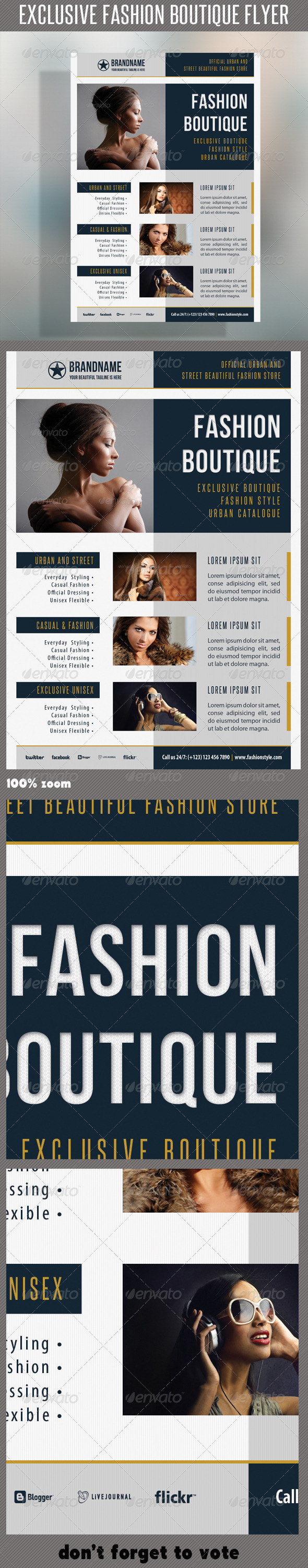 GraphicRiver Fashion Product Flyer 37 6924104