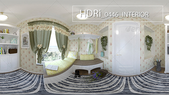 0446 Interoir HDRi - 3DOcean Item for Sale