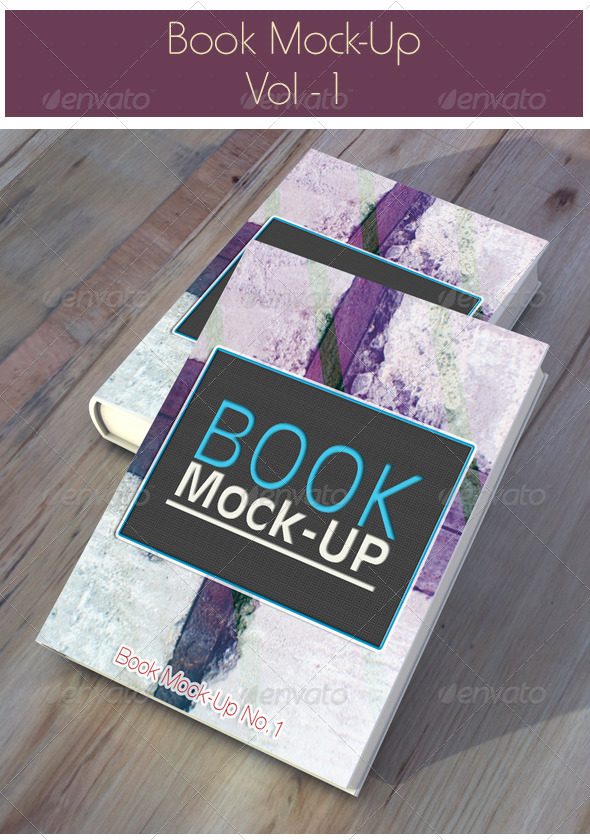 GraphicRiver Book Mock-Up 6783159