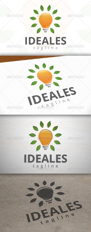GraphicRiver Eco Idea Logo 6925349