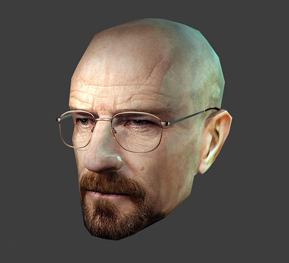 Heisenberg Breaking Bad - Low Poly - 3DOcean Item for Sale