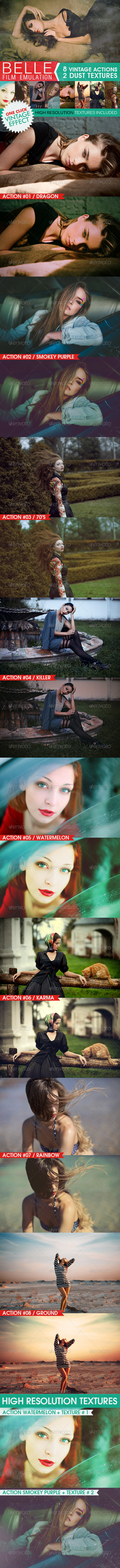 GraphicRiver HQ Film Emulation Actions V 6925871