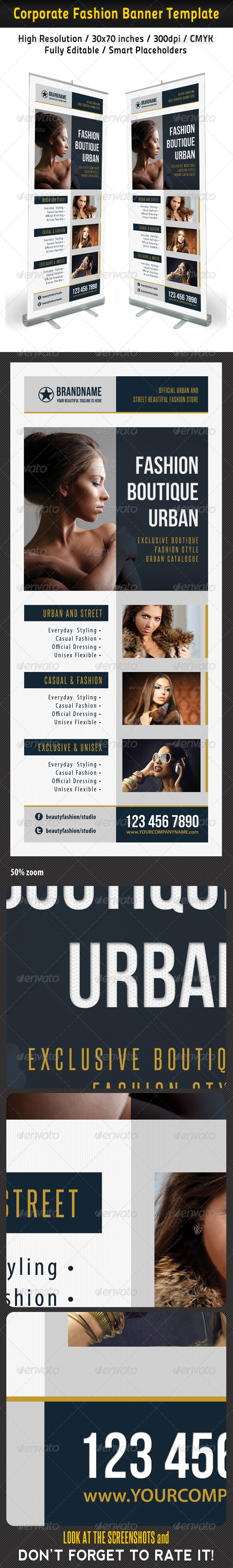 GraphicRiver Fashion Multipurpose Banner Template 32 6925987