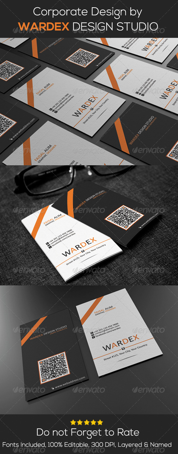 GraphicRiver Corporate Business Card Design 6926021
