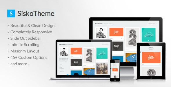 Sisko - A Clean Responsive Tumblr Theme