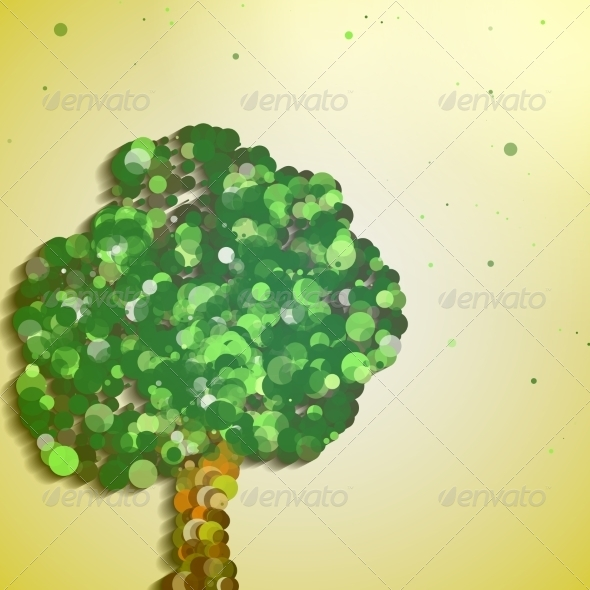 GraphicRiver Abstract Autumn Tree 6926402