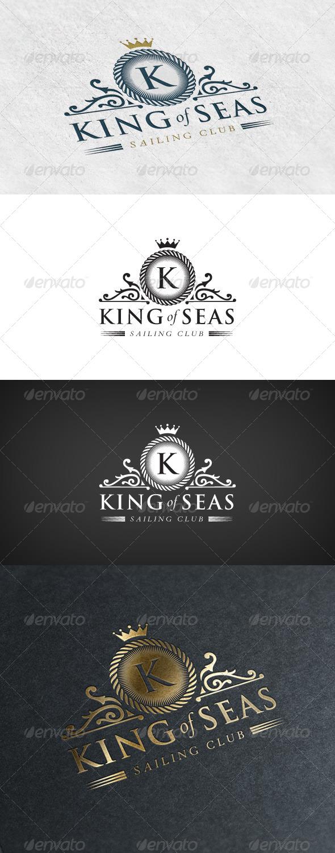 GraphicRiver Elegant Logo Sailing Club 6926482