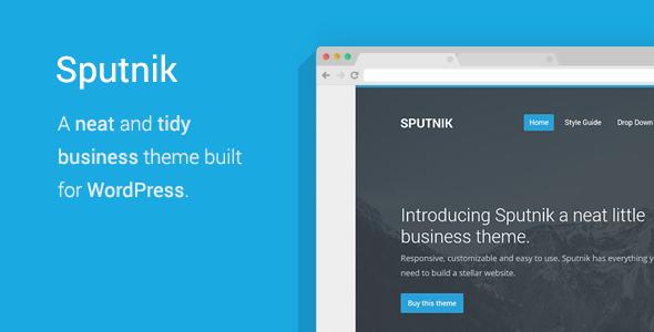 ThemeForest Sputnik A Tidy Business WordPress Theme 6913871