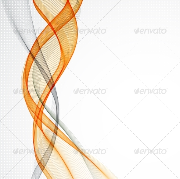 GraphicRiver Abstract Empty Background with Smoke Wave 6927074