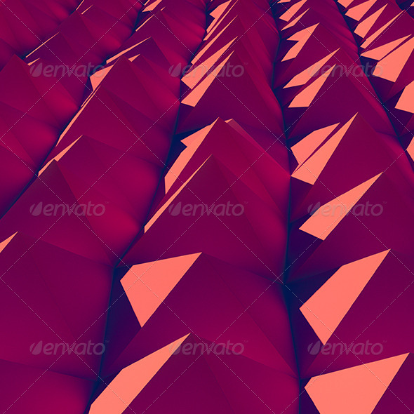 GraphicRiver Red Mountains 6927098